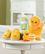 Kids' Duck Bath Slipper Set
