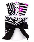 Trend Lab 4 Piece Zahara Hooded Towel Gift Cake
