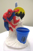 Spiderman Toothbrush and Cup Holder Set for Kids