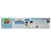Kodomo Baby Gel Toothpaste Bubble Fruit Flavour Sugar Free for 6 months up
