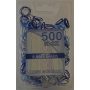 500 Pack Rubber Bands - Snag Free