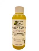 Organic Baby Oil 4.5 oz.