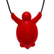 Siliconies Turtle Pendant - Silicone Necklace (Teething/Nursing/Sensory)