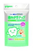 Pigeon Baby Tooth/dental Wipes 14 Pack