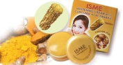 Isme Facial Whitening Lightening Cream with Curcuma Plai Tanaka Make up Base Best Product From Thailand