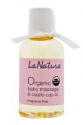 Certified Organic Baby Massage & Cradle Cap Oil