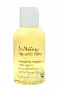 Certified Organic Baby Massage Oil with Organic Lavender