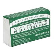 Bar Soap Organic-Almond 150mls