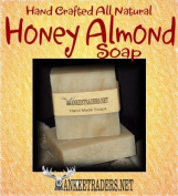Honey Almond (Vegan, All Natural) - Handmade Soaps / 2 Bars