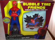 Spiderman Bubble Time Friends Bubbling Body Wash & Bath Mitt