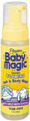 Baby Magic Foaming Hair & Body Wash, Extra Gentle, 210mls