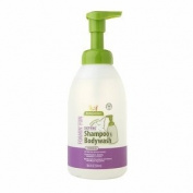 BabyGanics Foamin' Fun Foaming Shampoo & Body Wash, Lavender, 530ml