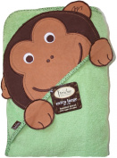 Frenchie Mini Couture Extra Large 101.6cm x76.2cm Absorbent Hooded Towel, Monkey