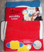 Wags & Wiggles scrubby towel multi colour