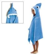 Avon Shark Towel Bath Beach Camp Hood Kids Blue Boy Girl Toddler Serviette De Bain a Capuchon Requin