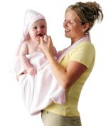 Clevamama Baby Bath Towel - Pink
