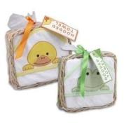 Hoodie Bath Towels By Peaches & Pumpkins