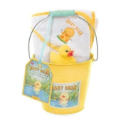 Baby Dear Hooded Towel Gift Set - Yellow