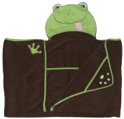 Frog - One of a kind and extra large Character Towel with paws and a tail, by Frenchie Mini Couture