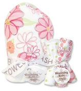 Hula Baby Hooded Towel & Wash Cloth Set