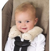 Kiddopotamus Cushy Straps Bear/Tan