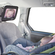 Jeep Back Seat Baby View Mirror, Black