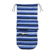 Buggysnuggle Fleece Footmuff (Blue Stripe) [Baby Product]