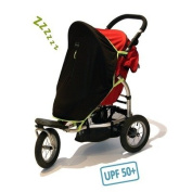 SnoozeShade Original - the breathable sleep and sun shade (UPF50+/max UV protection) for strollers