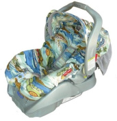 Patricia Ann Designs California Dreamin Infant Carseat Cover