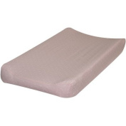 Pink with Cream Dots Changing Pad Cover