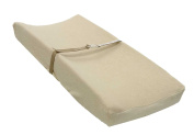 LA Baby Cotton Terry Cover for Contour Pad, Natural