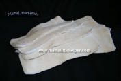 Bamboo Baby Cloth Nappy Inserts/ Soakers (Extra Long) - Comes in a Package of 6 Nappy Inserts
