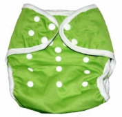 One Size Fit All- Nappy Covers for Prefolds or Regular Inserts PUL - GREEN