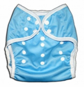One Size Fit All- Nappy Covers for Prefolds or Regular Inserts PUL - BLUE