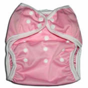 One Size Fit All- Nappy Covers for Prefolds or Regular Inserts PUL - PINK