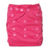 WolbyBug One Size Nappy Cover - Deep Pink