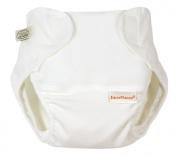 Imse Vimse Organic Cotton Nappy Cover - Preemie WHITE
