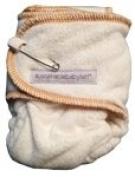 Sustainablebabyish Snapless Mini Cloth Nappy - Honey