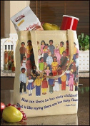 Children of the World Tote Bag Devotional Women's Hand Tote Bag Mother Teresa