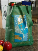 The Earth Is The Lord's Bookbag Sunday School Grocery Bag Tote Purse Large 40.6cm