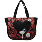 Japannese Girl Pronted Large Tote Hand Bag