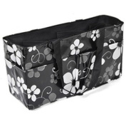 KF Baby Nappy Bag Insert Organiser, Black