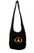 Rasta with Peace Shoulder Purse Sling bag Tote bag