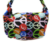 Coloful Peace Shoulder Bag Tote Hand Bag