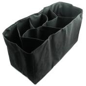 KF Baby Nappy Bag Insert Organiser - 15.2 x 18.3cm x 20.3cm , Black