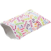 Itzy Ritzy Travel Happens Wet Sealed Wet Bag, Sight Word Soup, Medium