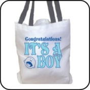 Congratulations! It's a Boy! Totebag