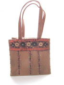 Eco Friendly Coconut Skin and Coconut Shell Buttons Handbag Made in the Philippines