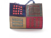 Fun and Colour Eco Friendly Burlap Purse Made in the Philippines