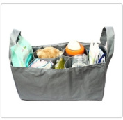 Baby Bottle Nappy Bag Organiser / Divider - Grey